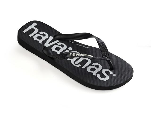 havaianas Top Logomania Sandalias Hombre, black